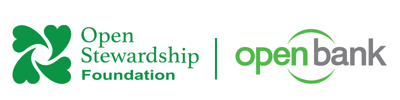 Openstewardship Foundation Logo and Openbank Logo