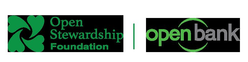 Openstewardship Foundation Logo and Openbank Logo